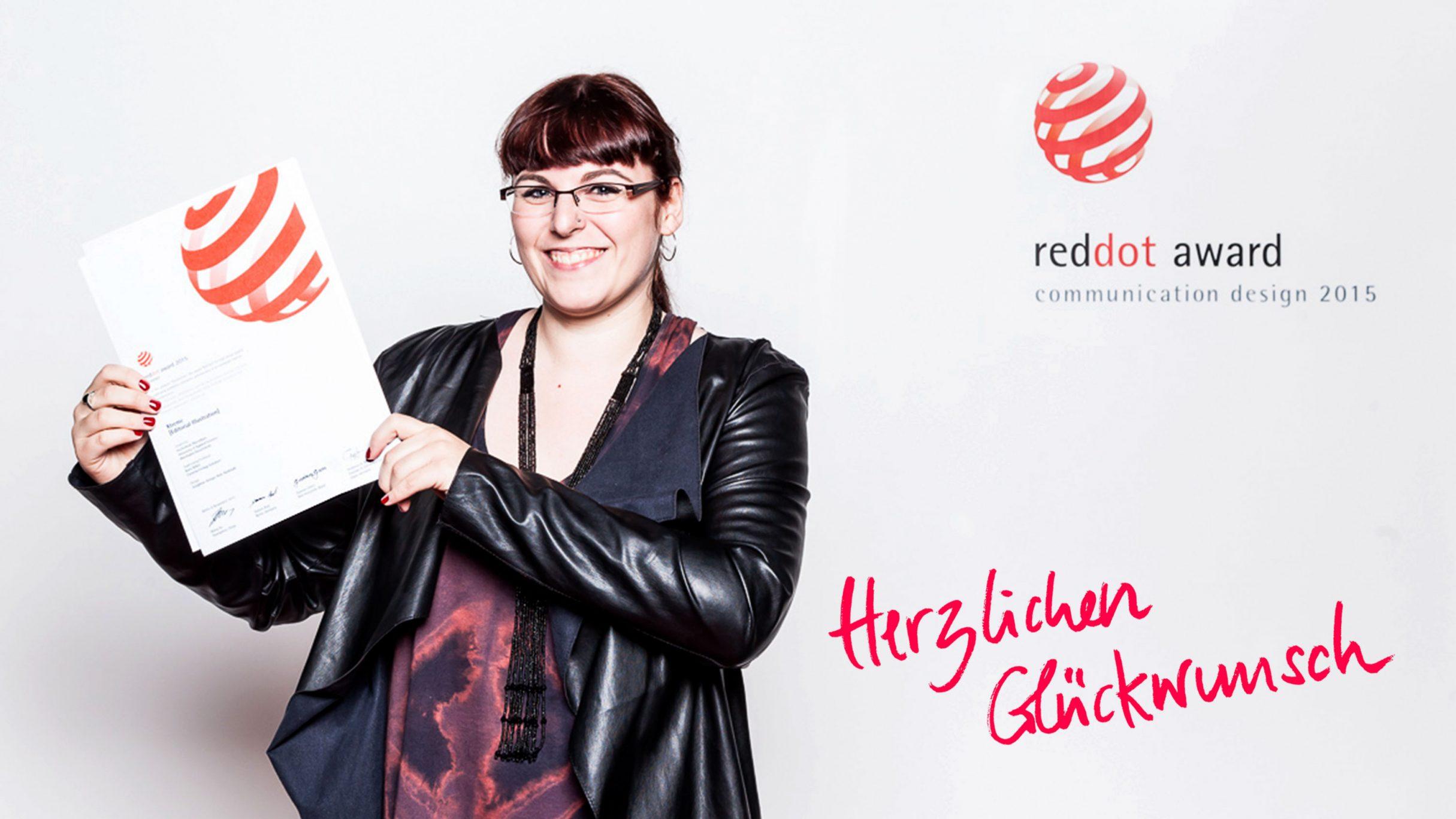 red dot award für Josephine Stenger Ruh: DIE NEUDENKER® Agentur, Darmstadt