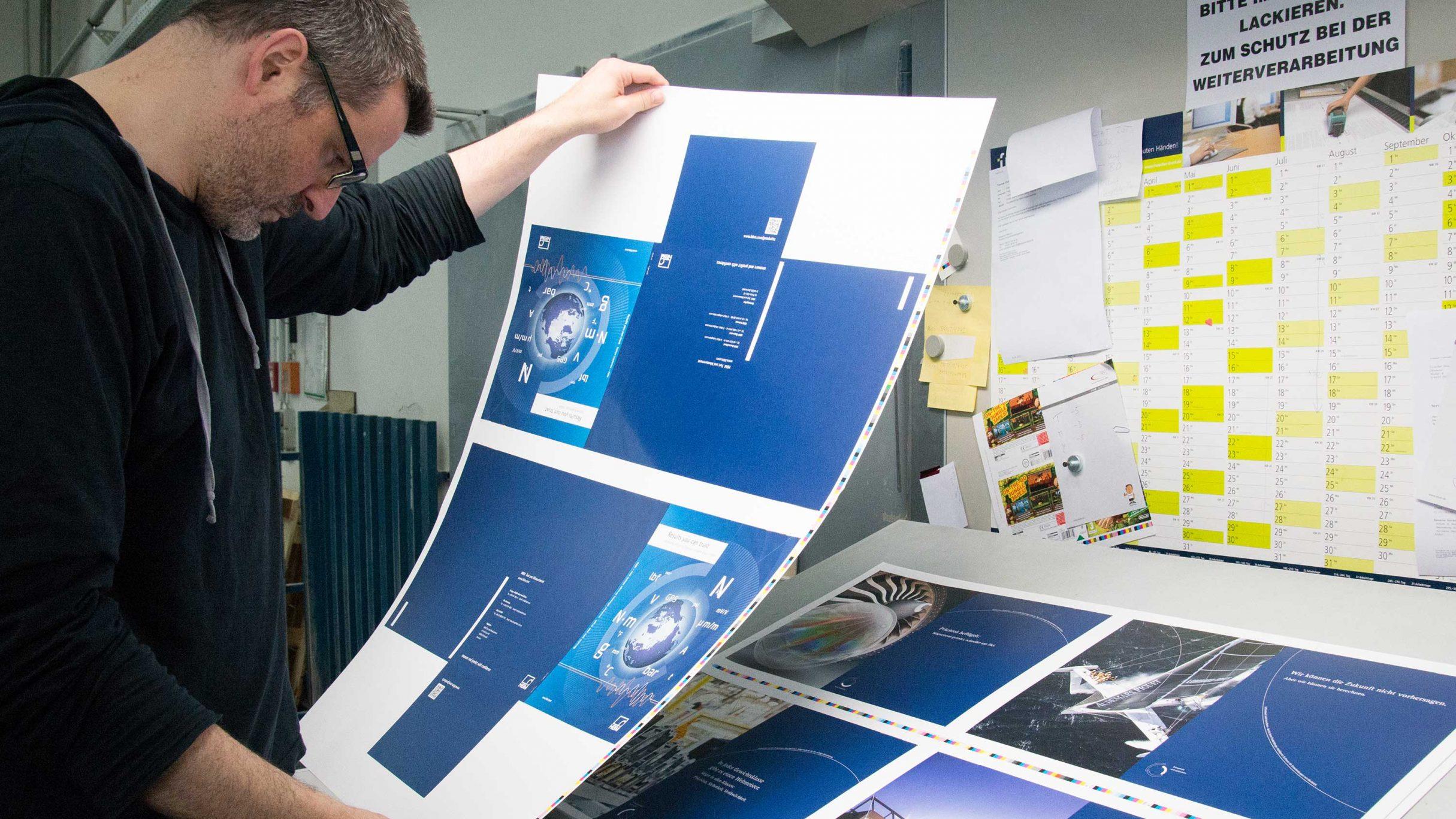 Imagebroschüre für hbm im Druck: DIE NEUDENKER® Agentur, Darmstadt