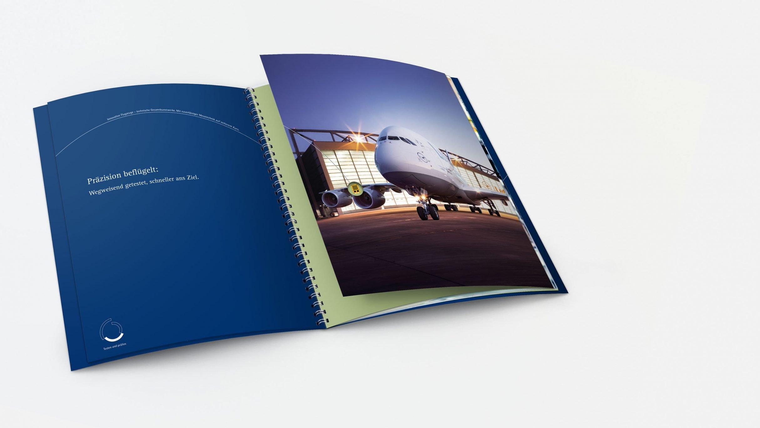 Imagebroschüre für hbm: DIE NEUDENKER® Agentur, Darmstadt