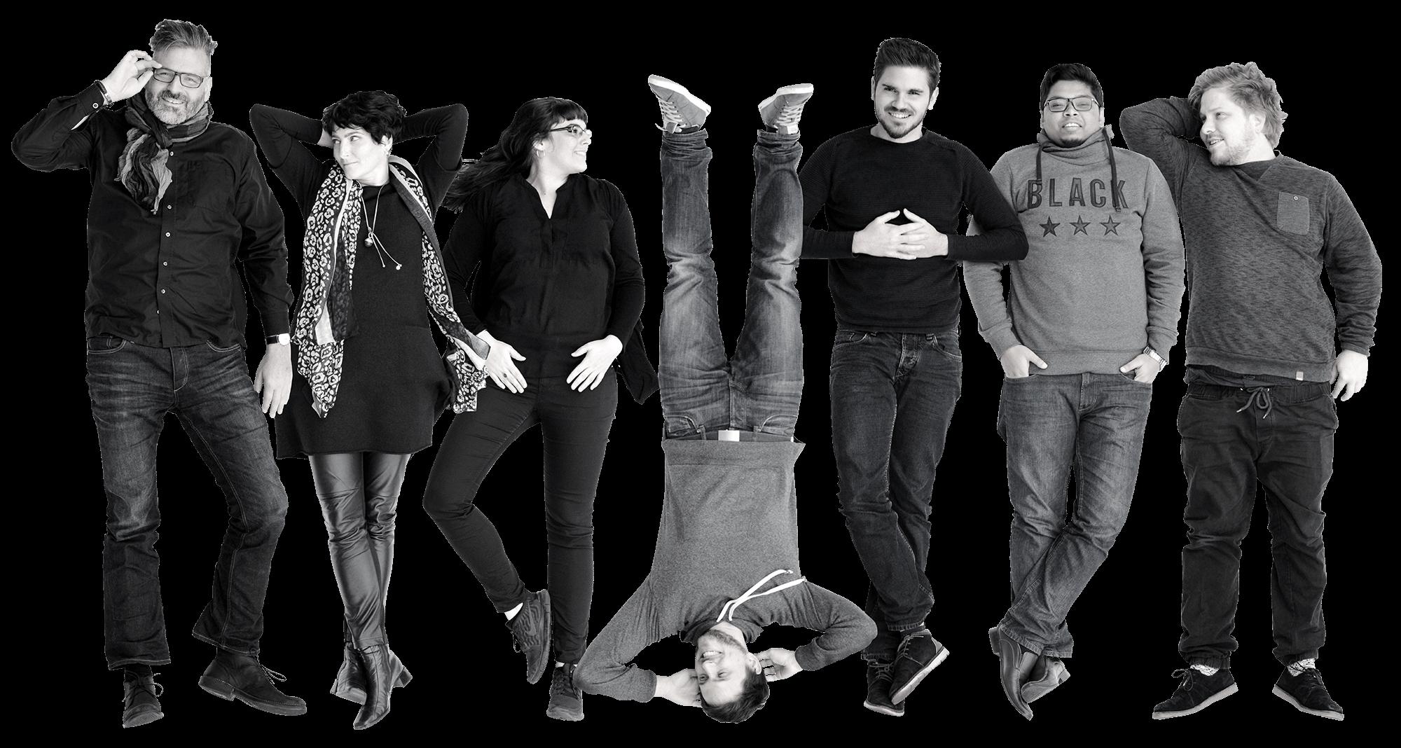 Teambild der Webagentur DIE NEUDENKER®, Darmstadt