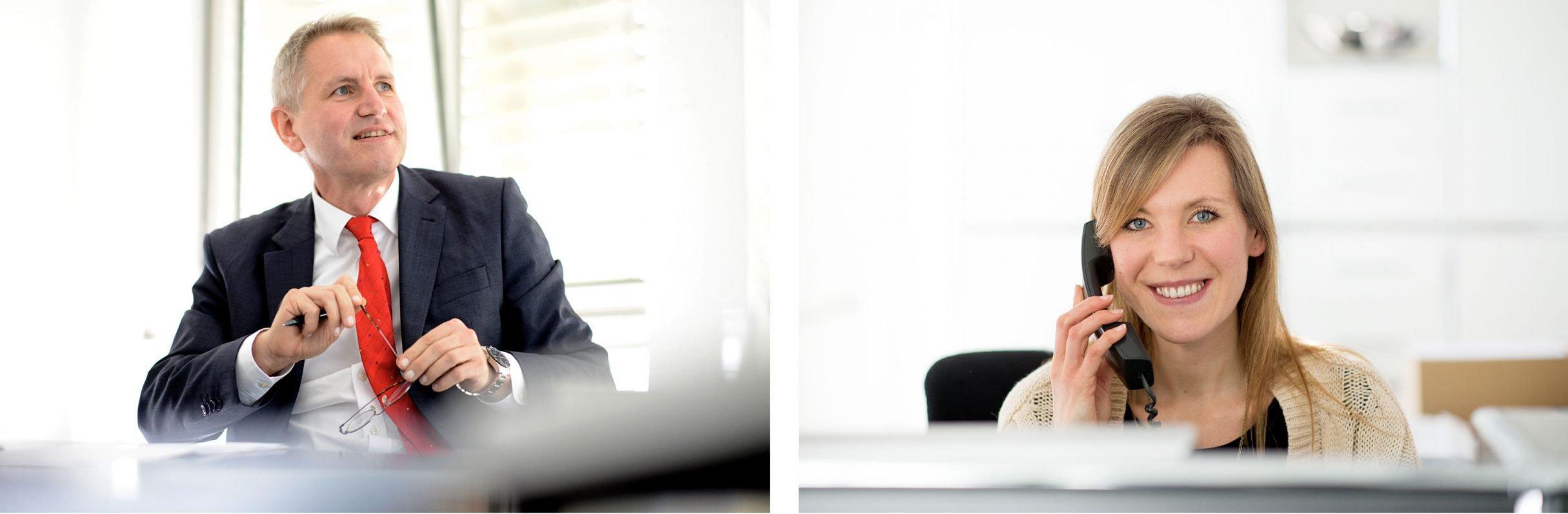 Businessfotografie für Dr. Vaih und Partner: DIE NEUDENKER® Agentur, Darmstadt