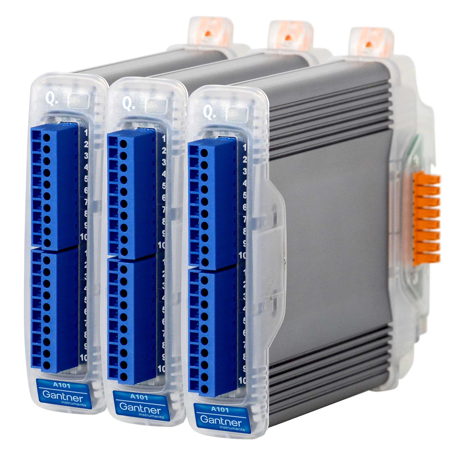qbloxx A101-3 Module von Gantner Instruments: DIE NEUDENKER® Agentur, Darmstadt