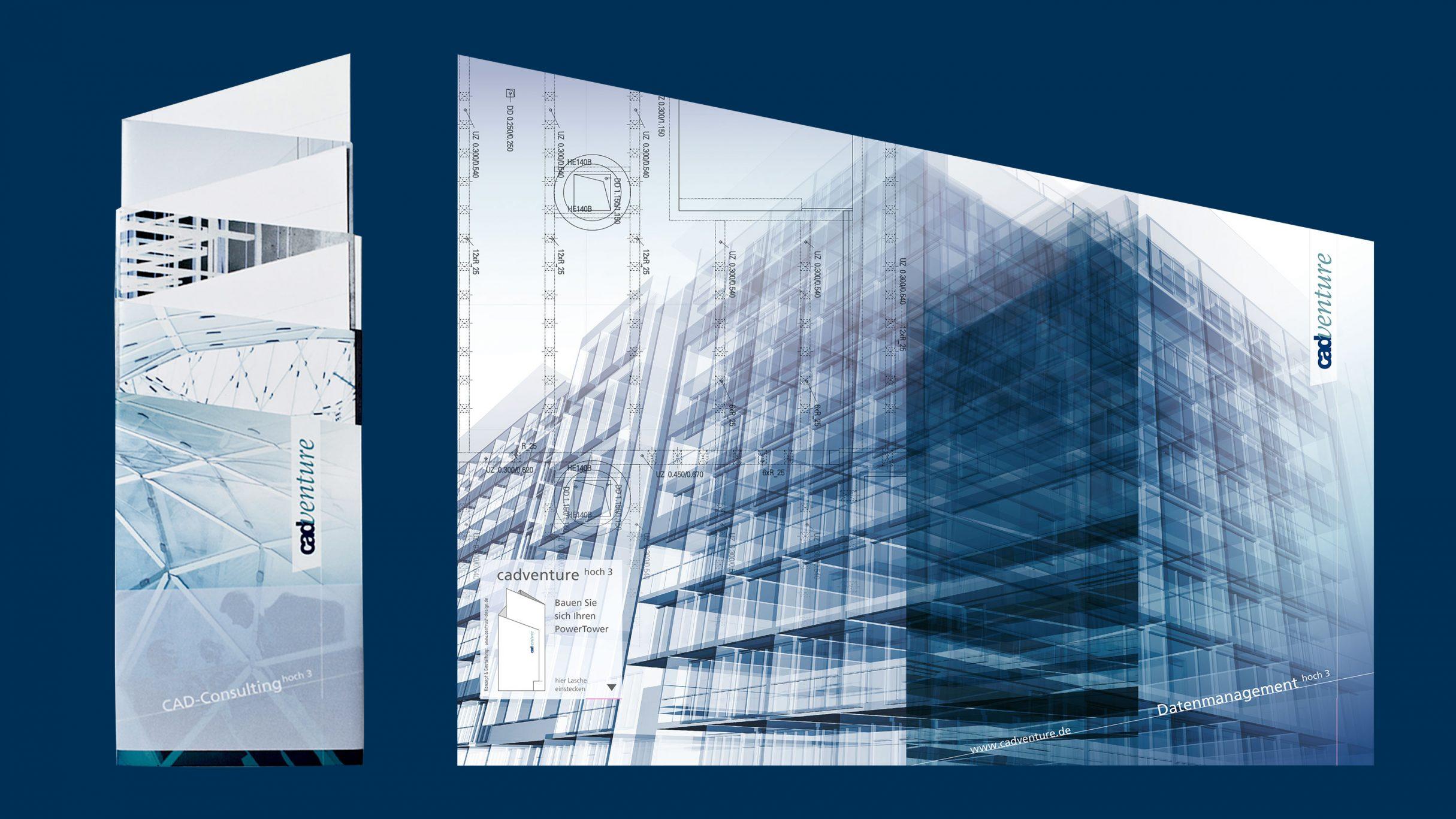 Mailing für cadventure data management: DIE NEUDENKER® Agentur, Darmstadt