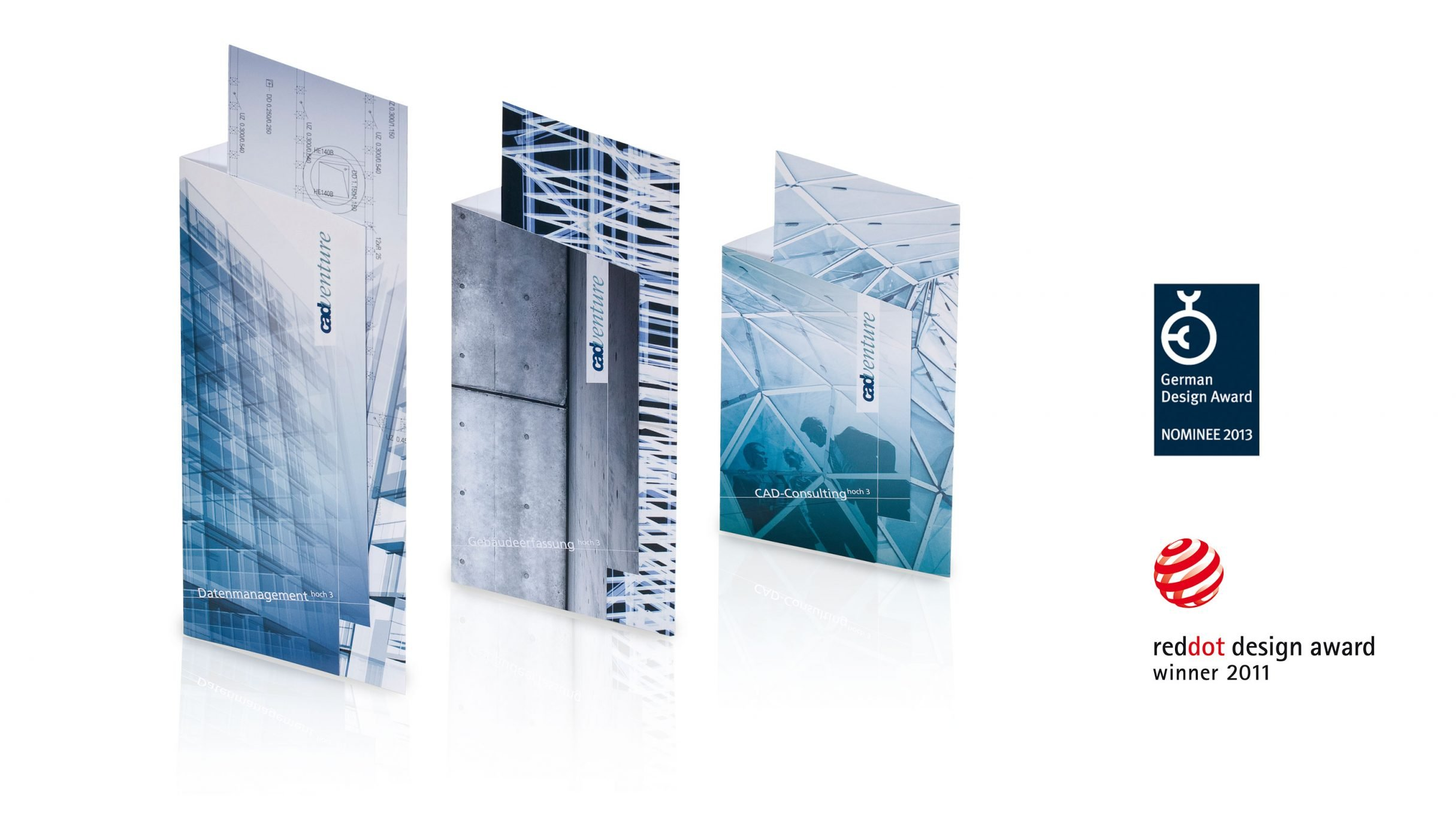 Powertower, Imageflyer für cadventure, reddot german design award winner: DIE NEUDENKER® Agentur, Darmstadt