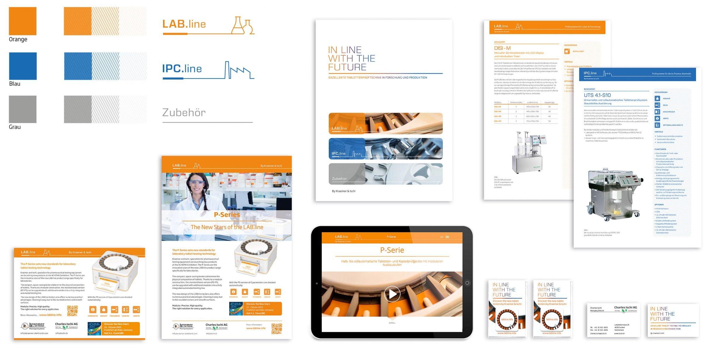 Corporate Design für Kraemer Elektronik und Charles Ischi: DIE NEUDENKER® Agentur, Darmstadt
