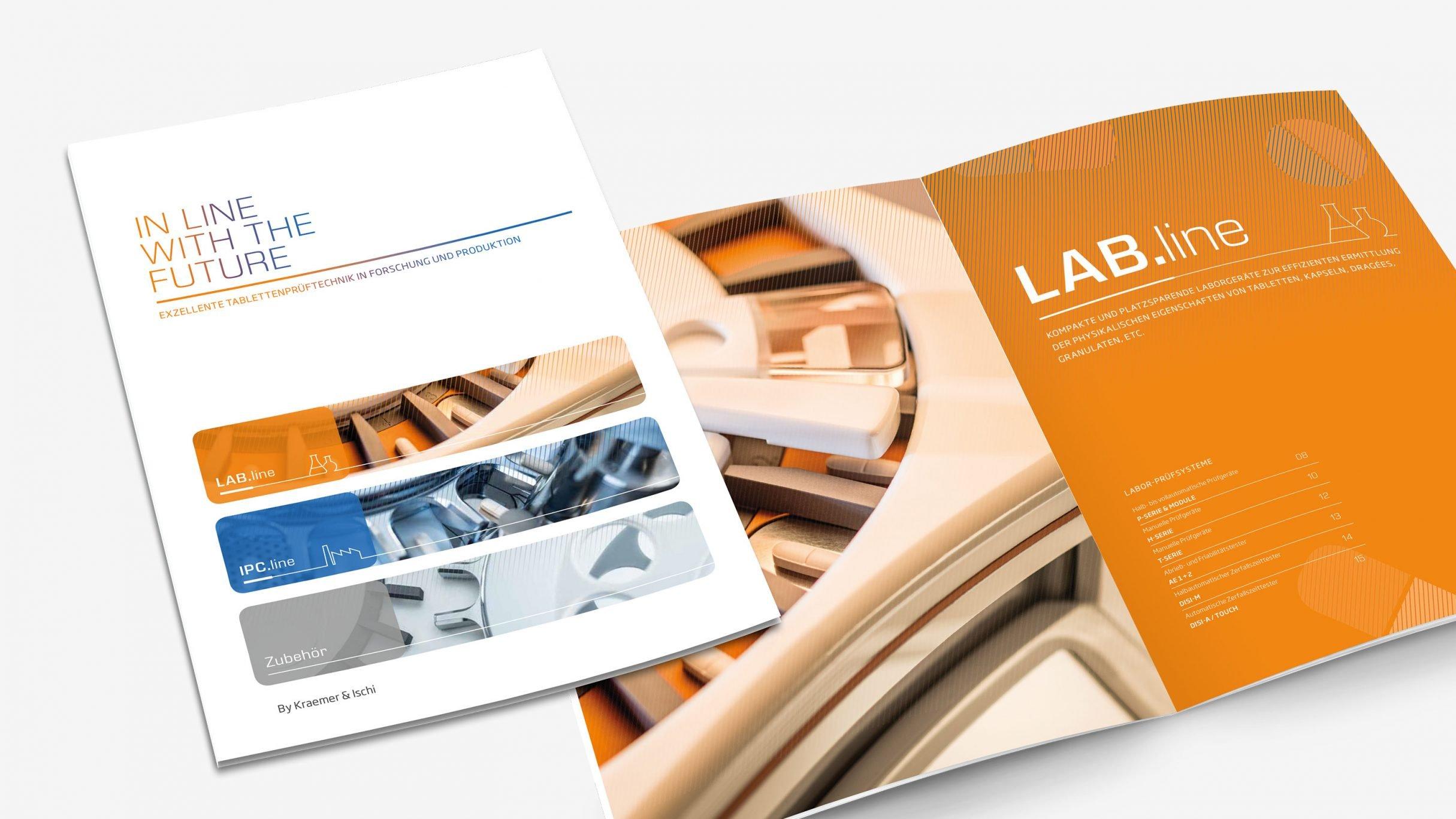 Corporate Design, Produktkatalog für Kraemer Elektronik und Charles Ischi: DIE NEUDENKER® Agentur, Darmstadt
