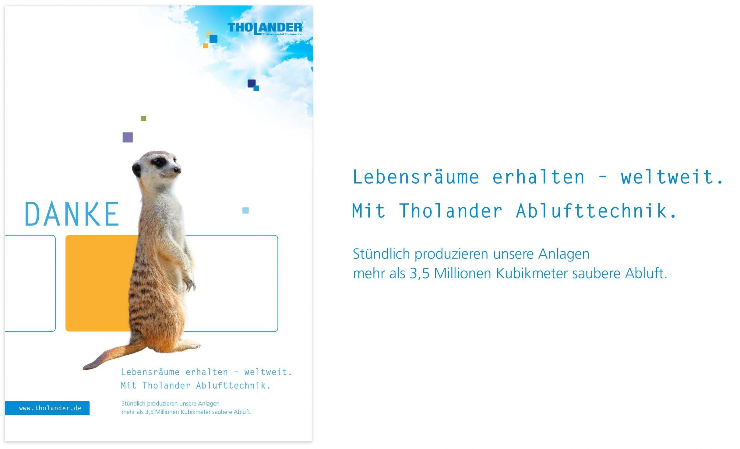 Corporate Design, Markenkommunikation für Tholander: DIE NEUDENKER® Agentur, Darmstadt