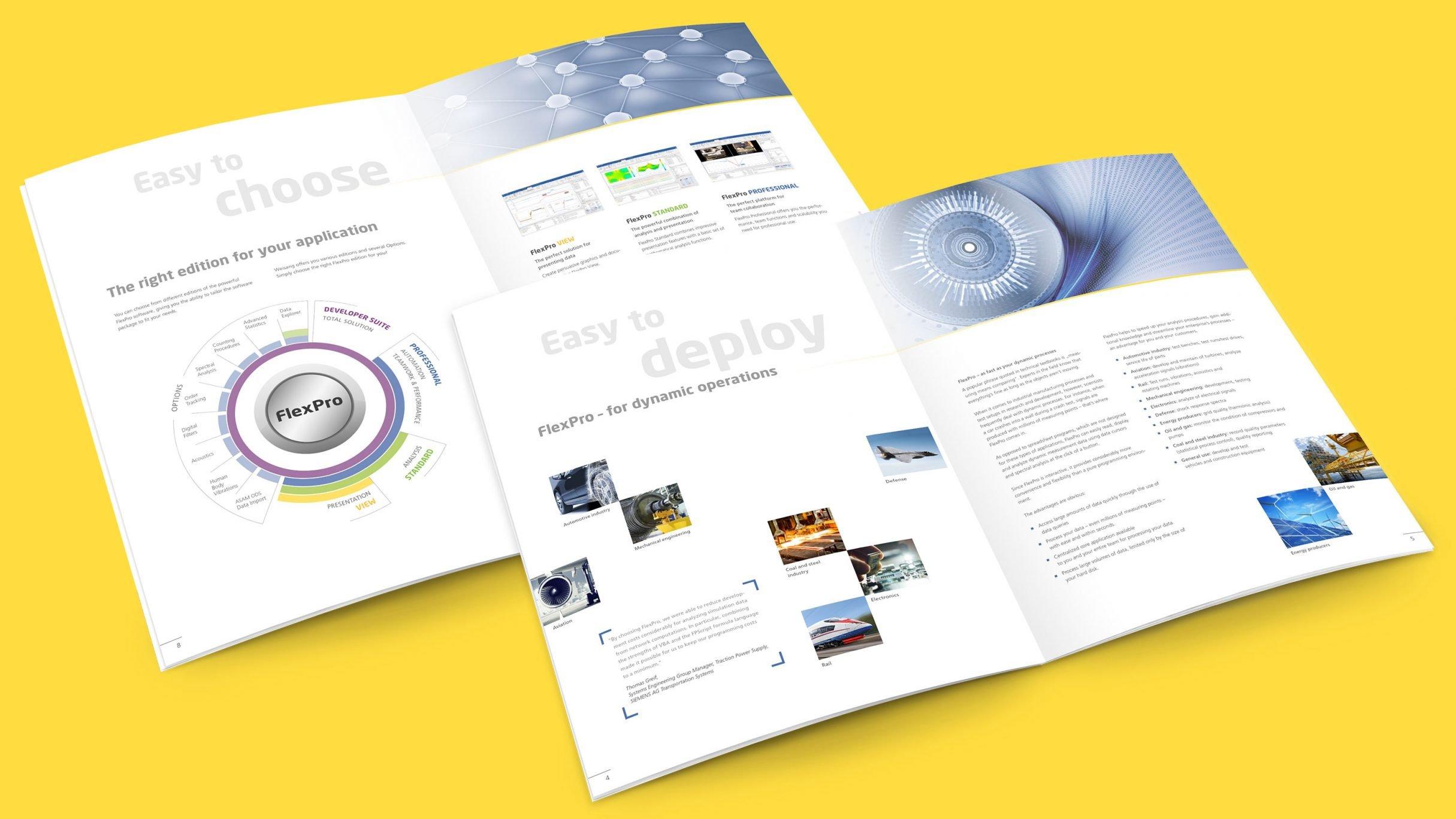 Corporate Design, Markenkommunikation für Weisang: DIE NEUDENKER® Agentur, Darmstadt