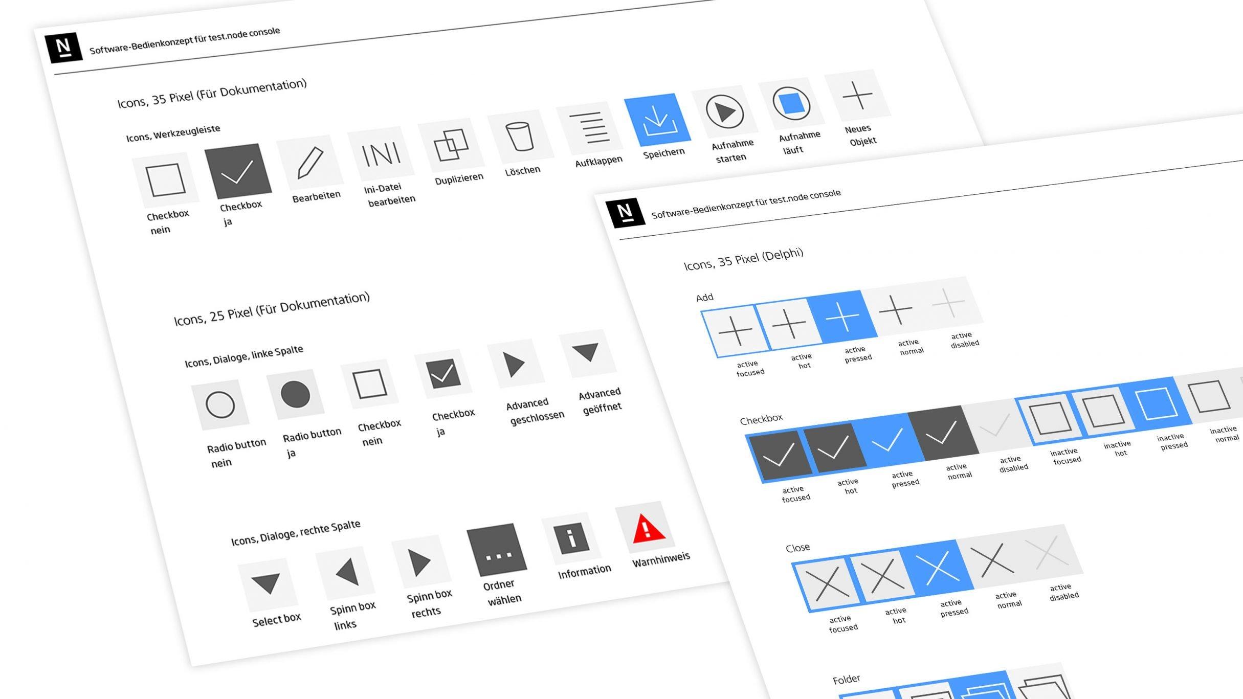 Designguide test.node für Gantner Instruments: DIE NEUDENKER® Agentur, Darmstadt