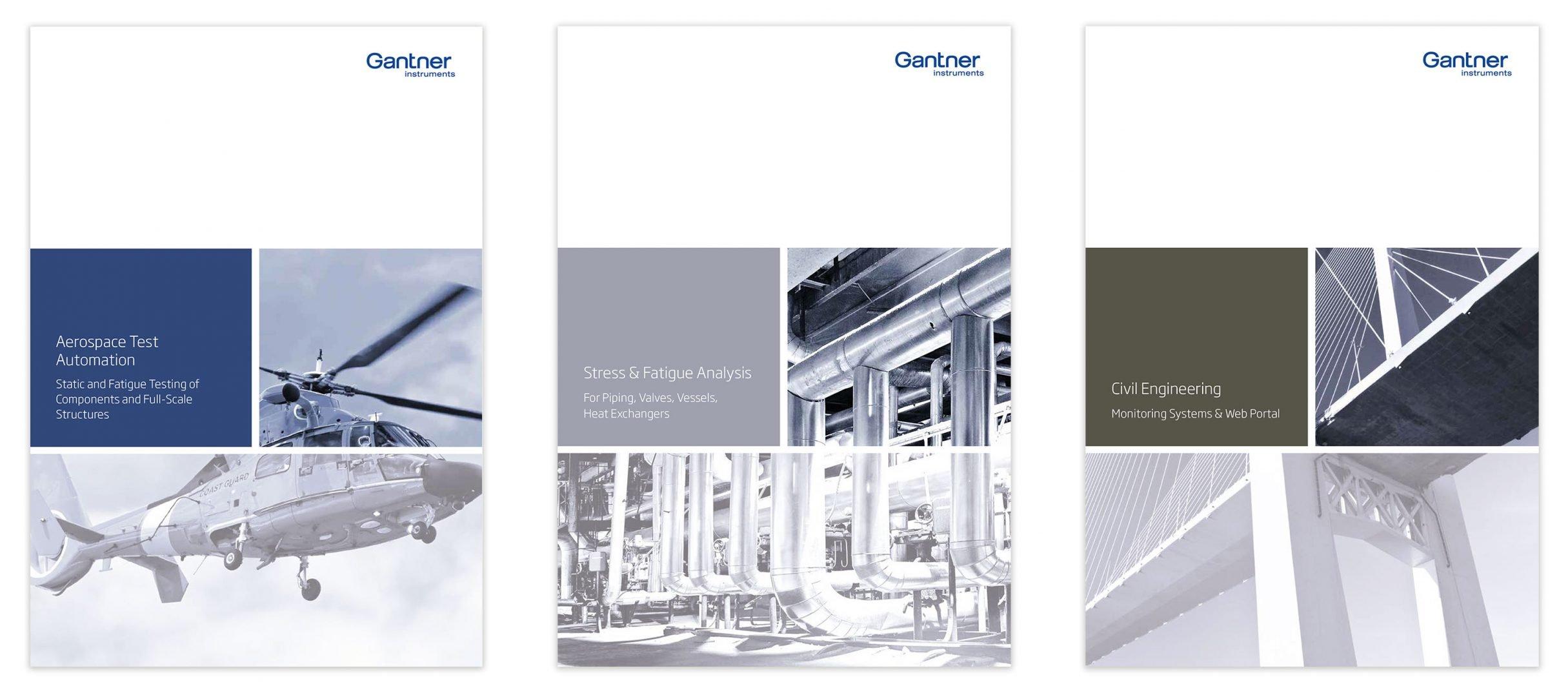 Flyer, Geschäftsausstattung für Gantner Instruments: DIE NEUDENKER® Agentur, Darmstadt