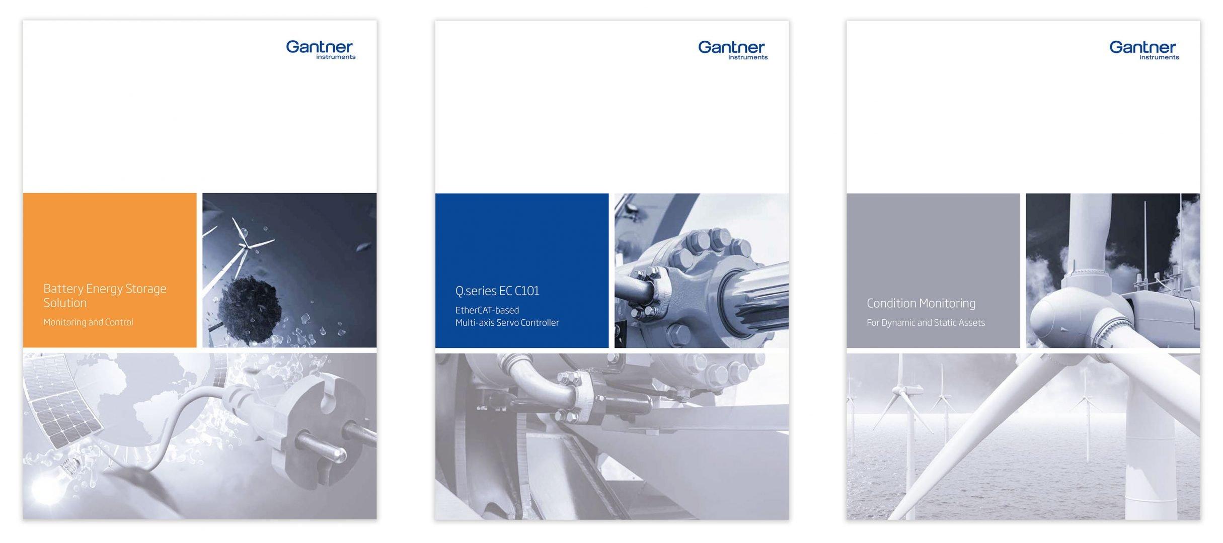Flyer für Gantner Instruments: DIE NEUDENKER® Agentur, Darmstadt