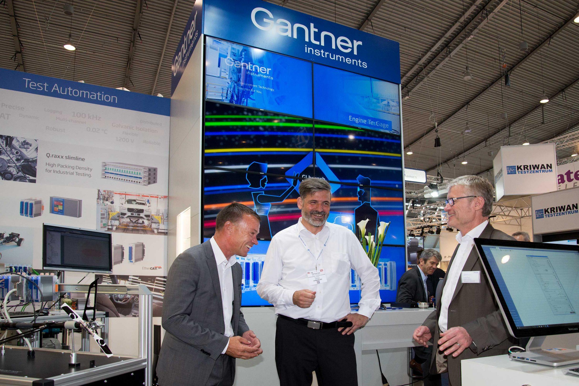 Messe Design für Gantner Instruments auf der automotive testing expo 2017: DIE NEUDENKER® Agentur, Darmstadt