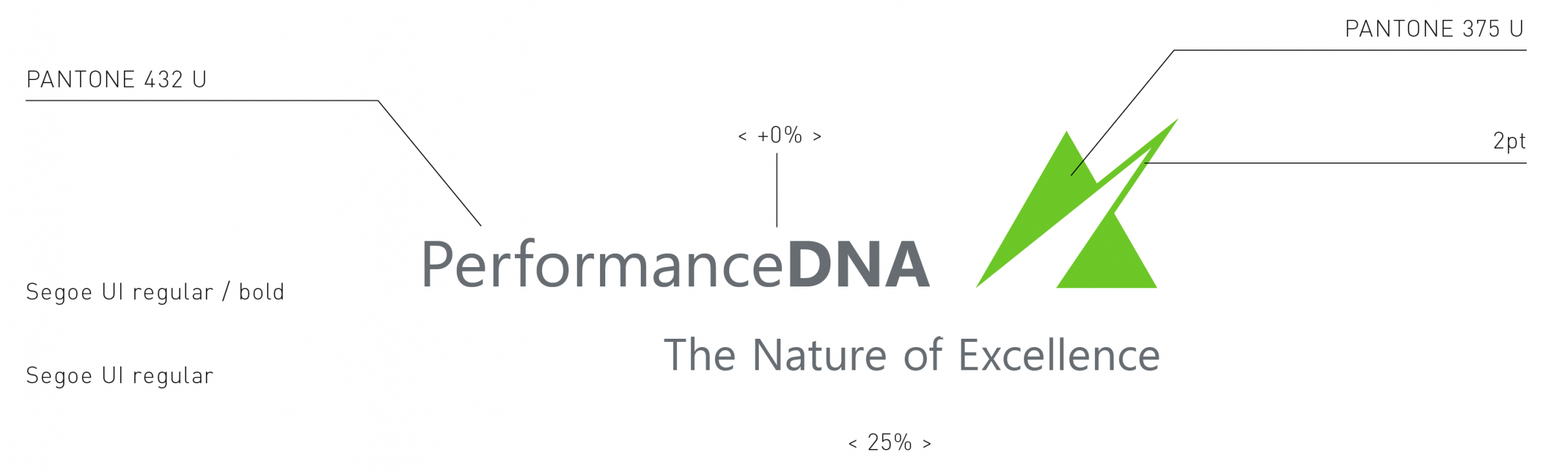 Corporate Design Guide für Performance DNA: DIE NEUDENKER® Agentur, Darmstadt