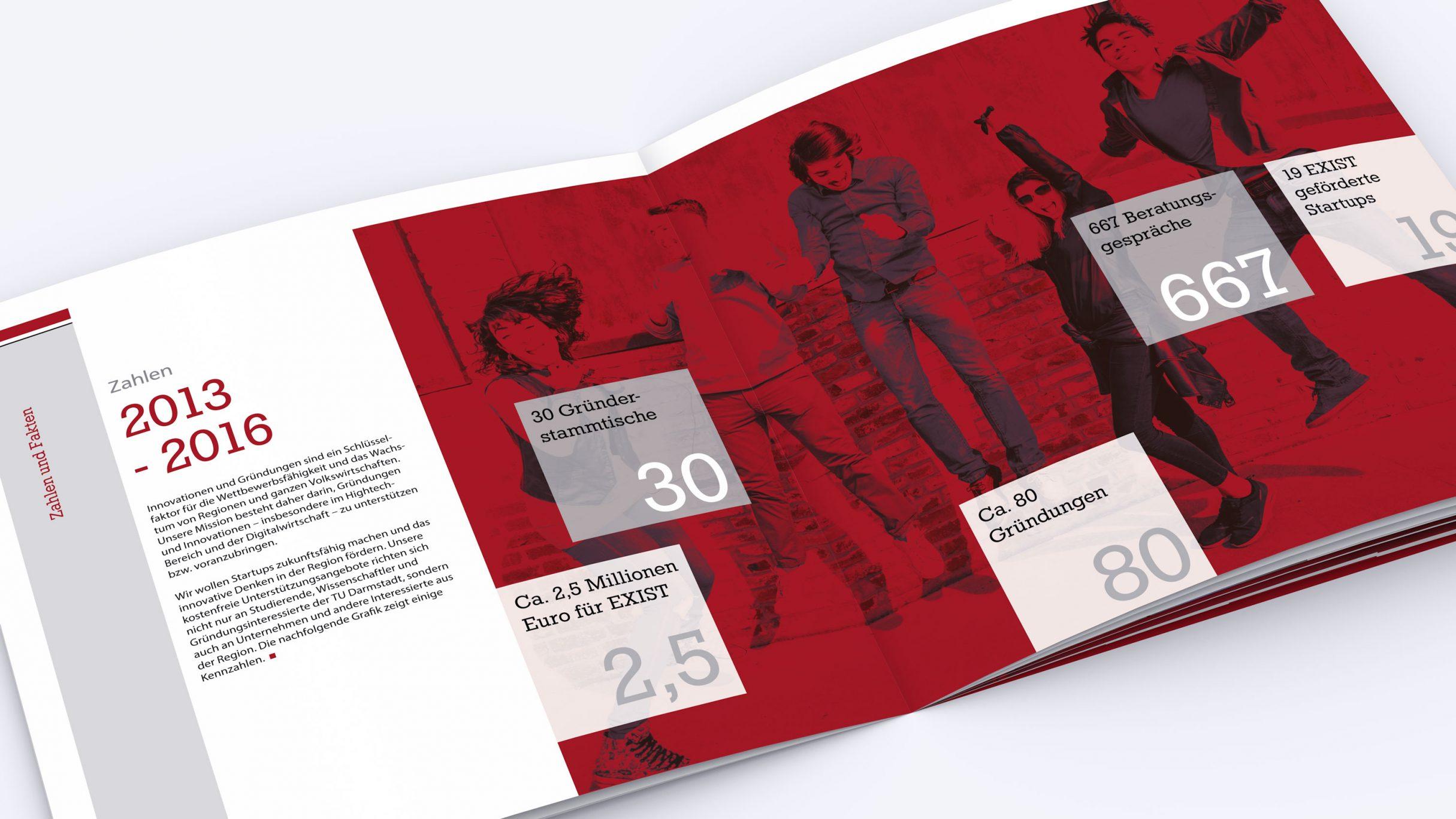 Broschüre für die Technische Universität Darmstadt: DIE NEUDENKER® Agentur, Darmstadt