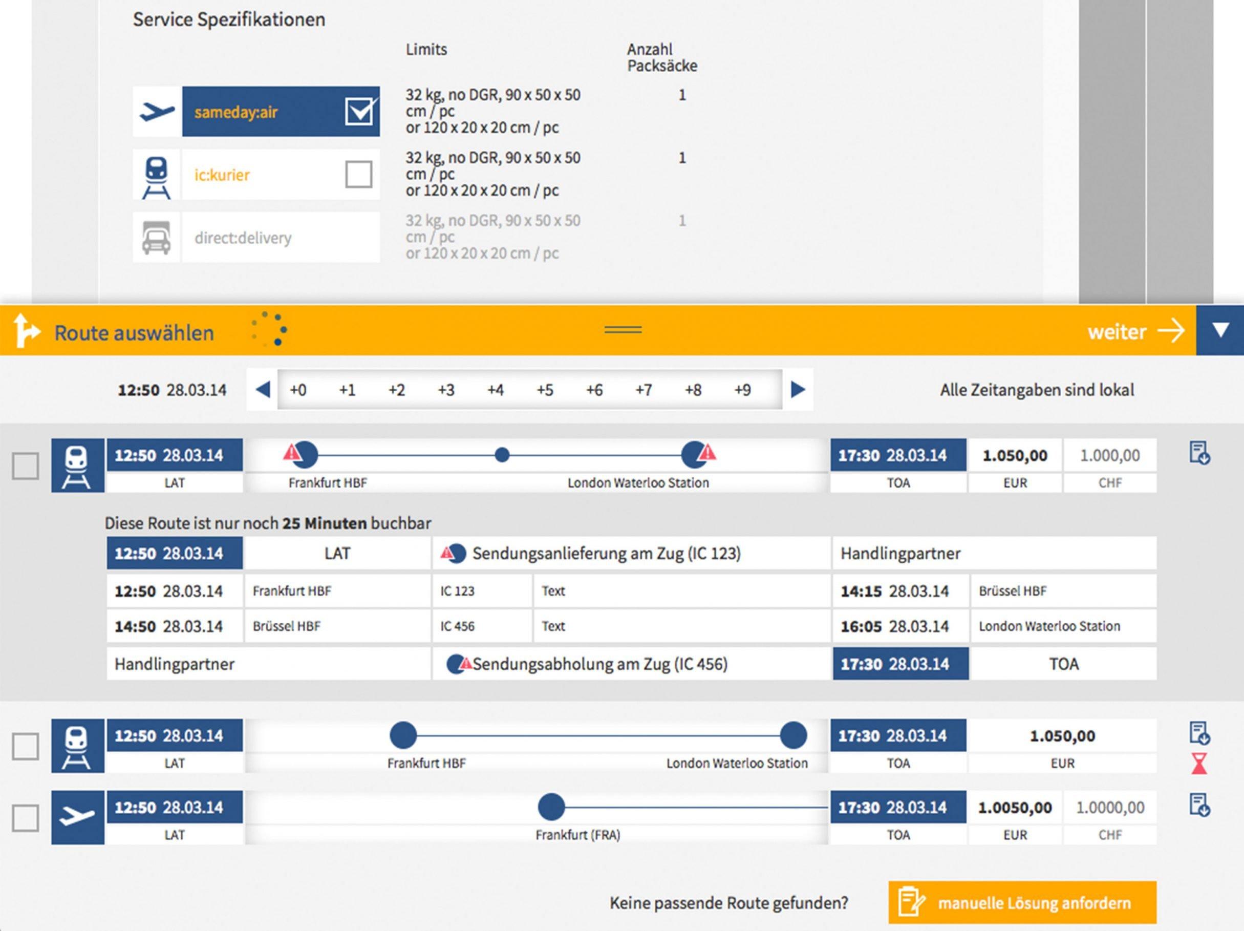 User Experience Design Buchungsplattform für time:matters online: DIE NEUDENKER® Agentur, Darmstadt