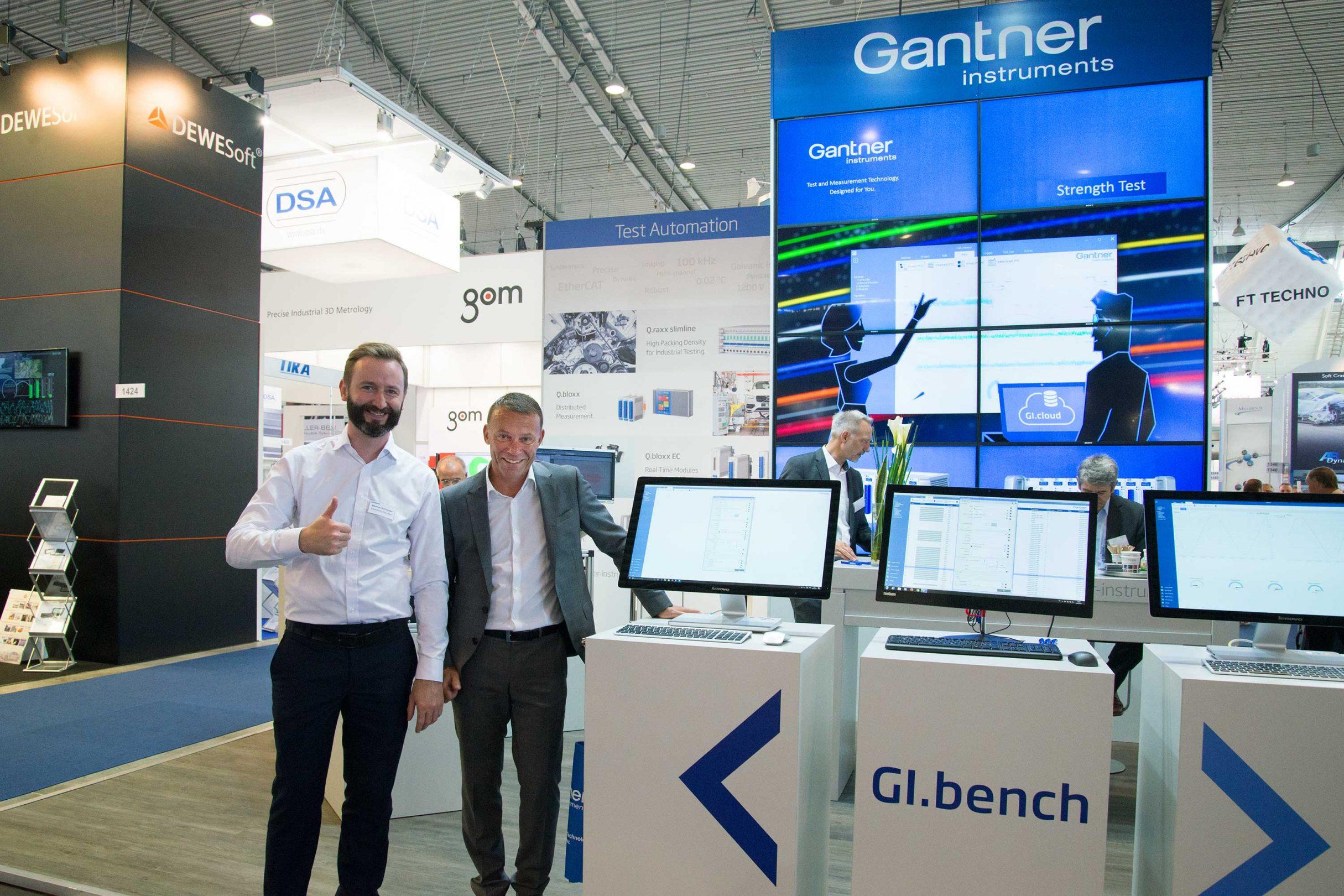 Messegestaltung für Gantner Instruments: DIE NEUDENKER® Agentur, Darmstadt