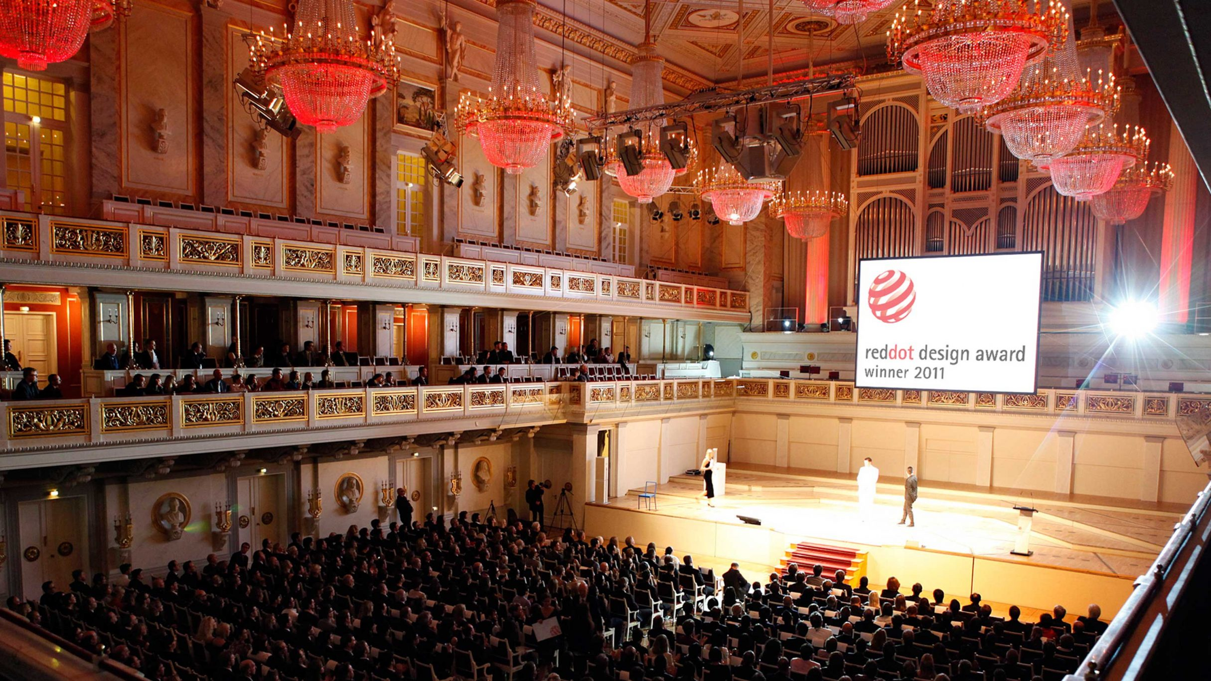 red dot design award Verleihungsgala in Berlin: DIE NEUDENKER® Webdesign Agentur, Darmstadt