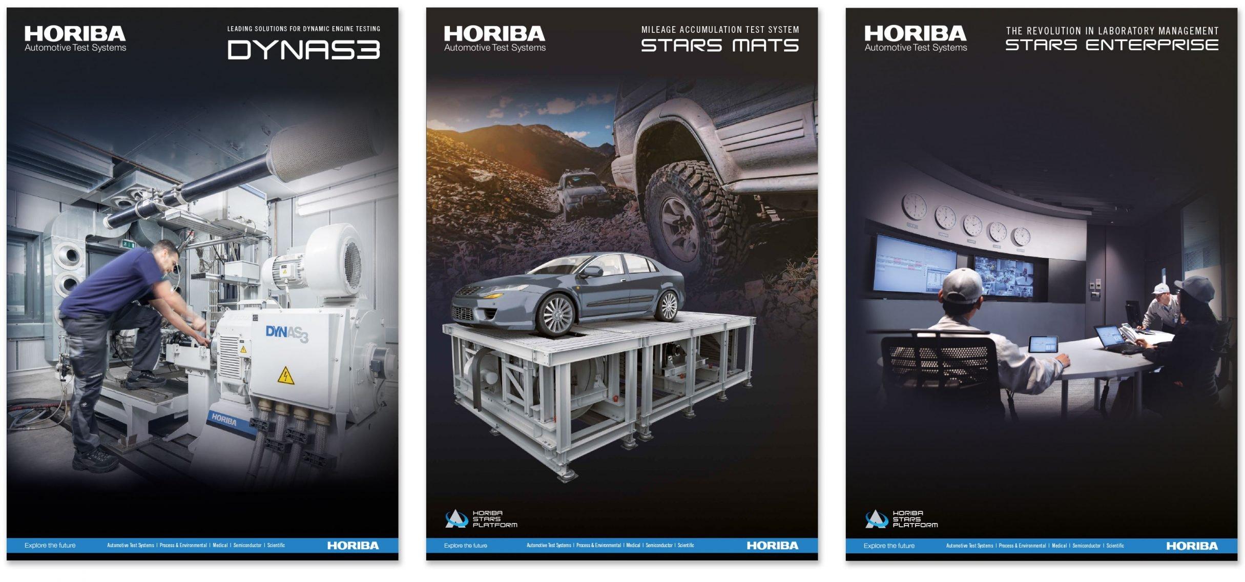 Corporate Design, Broschüren für HORIBA: DIE NEUDENKER® Agentur, Darmstadt