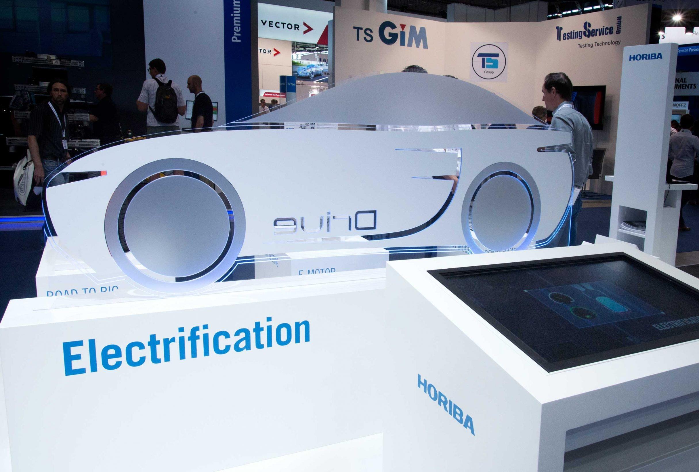 e-drive automotive für HORIBA: DIE NEUDENKER® Agentur, Darmstadt