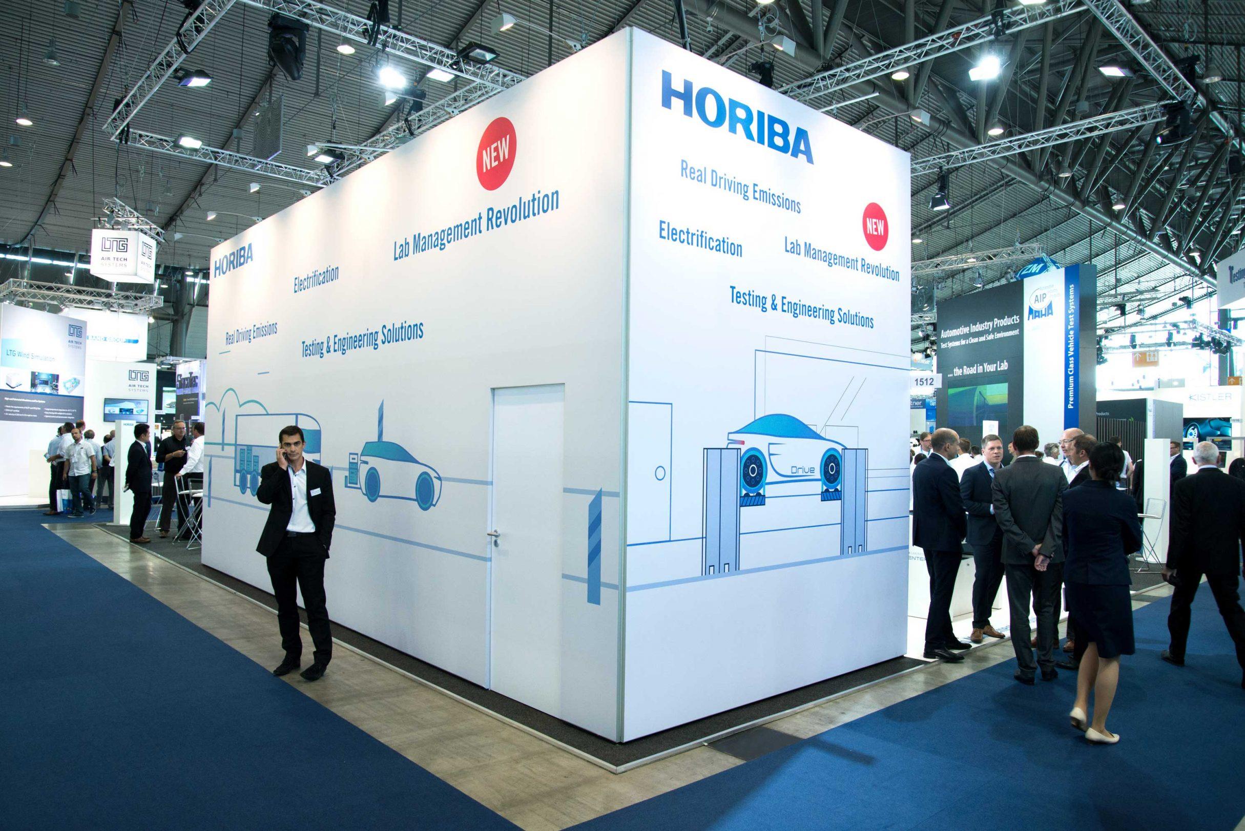 Messe Design für HORIBA: DIE NEUDENKER® Agentur, Darmstadt