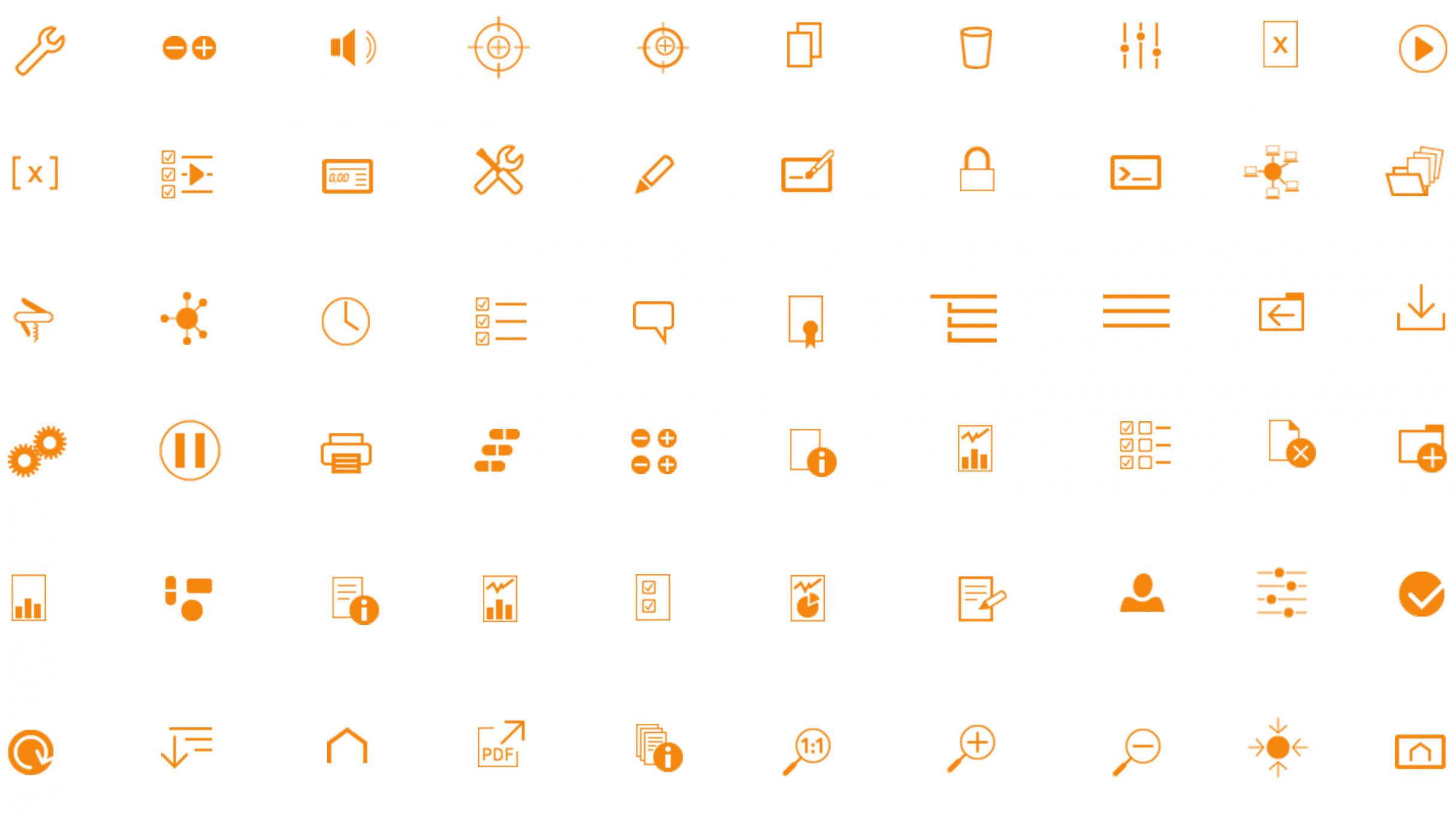 Icon Design für Kraemer Elektronik: DIE NEUDENKER® Agentur, Darmstadt