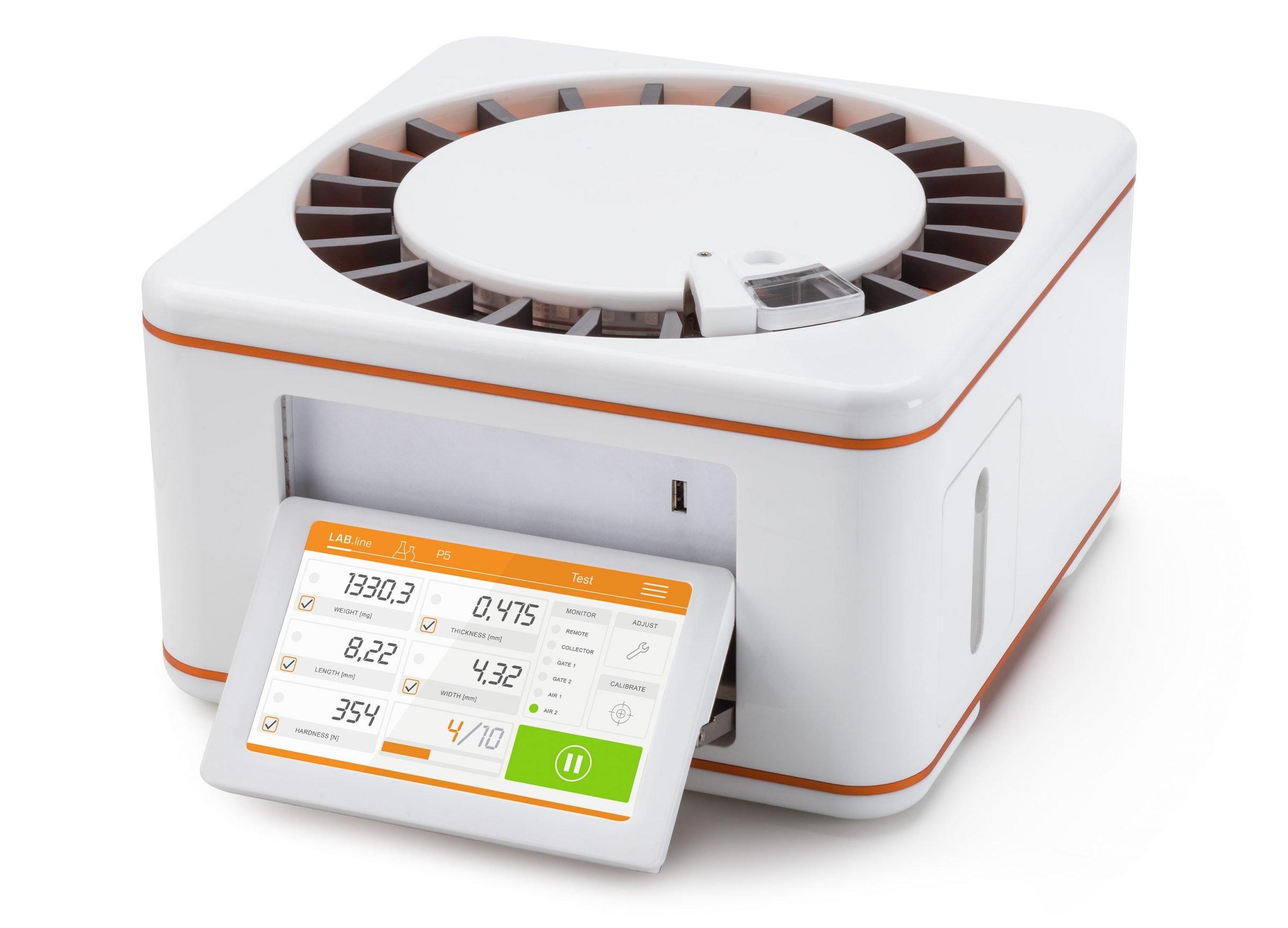 Tablettentester mit Touchscreen Kraemer Elektronik: DIE NEUDENKER® Agentur, Darmstadt