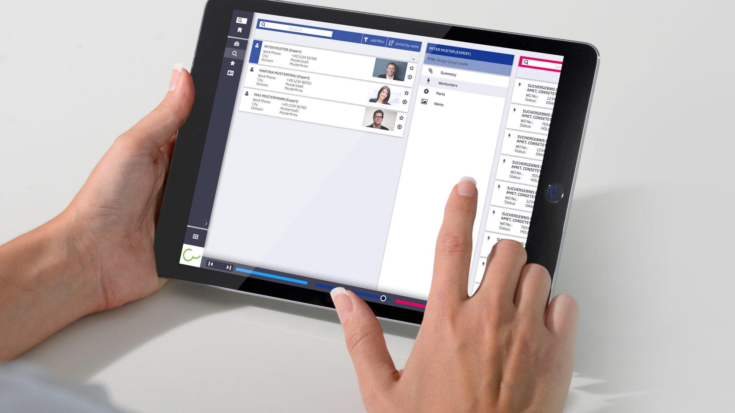 UX Design, information research tool für Conweaver: DIE NEUDENKER® Agentur, Darmstadt