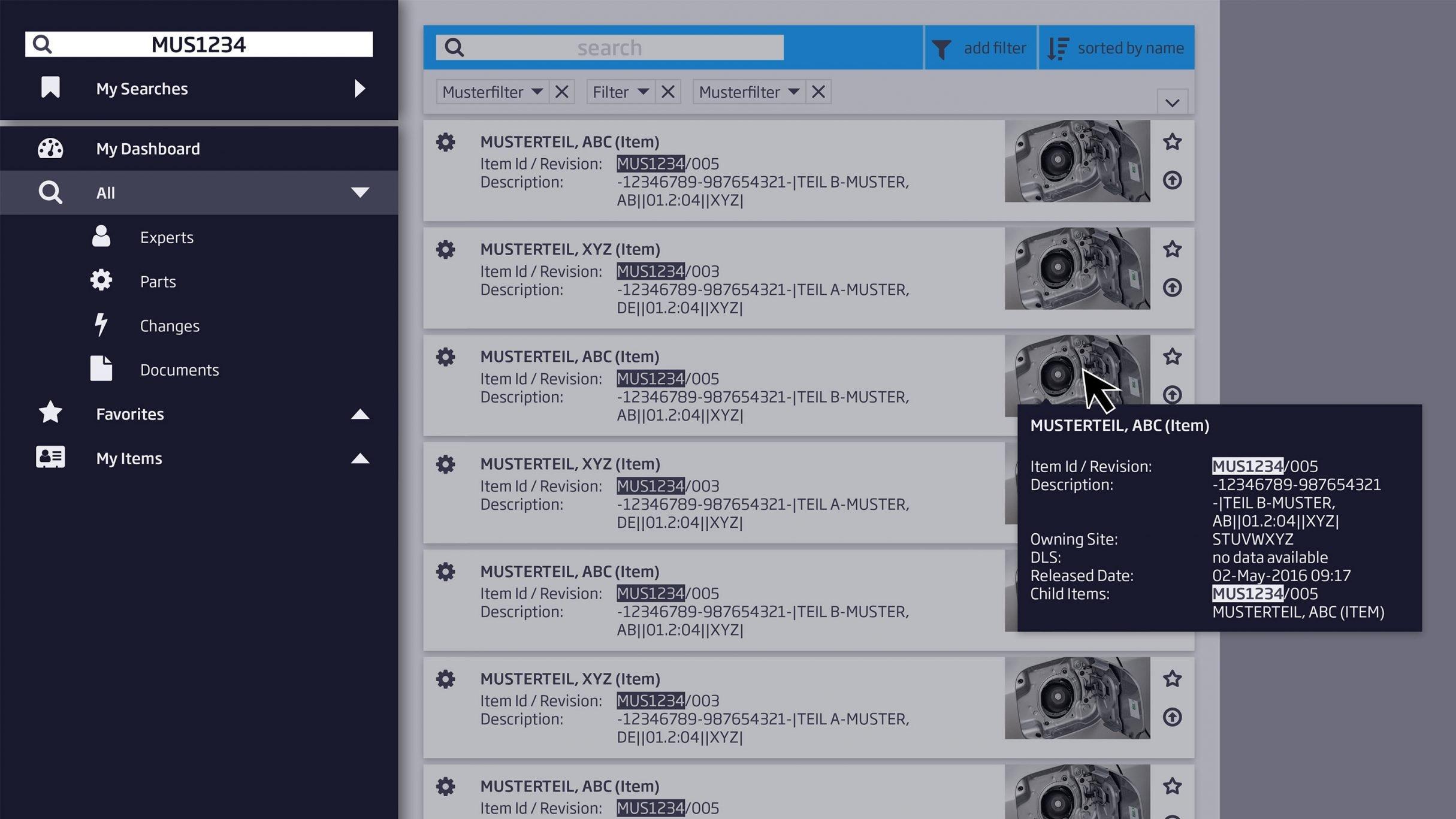 User Interface Design, Bedienoberfläche für Conweaver: DIE NEUDENKER® Agentur, Darmstadt