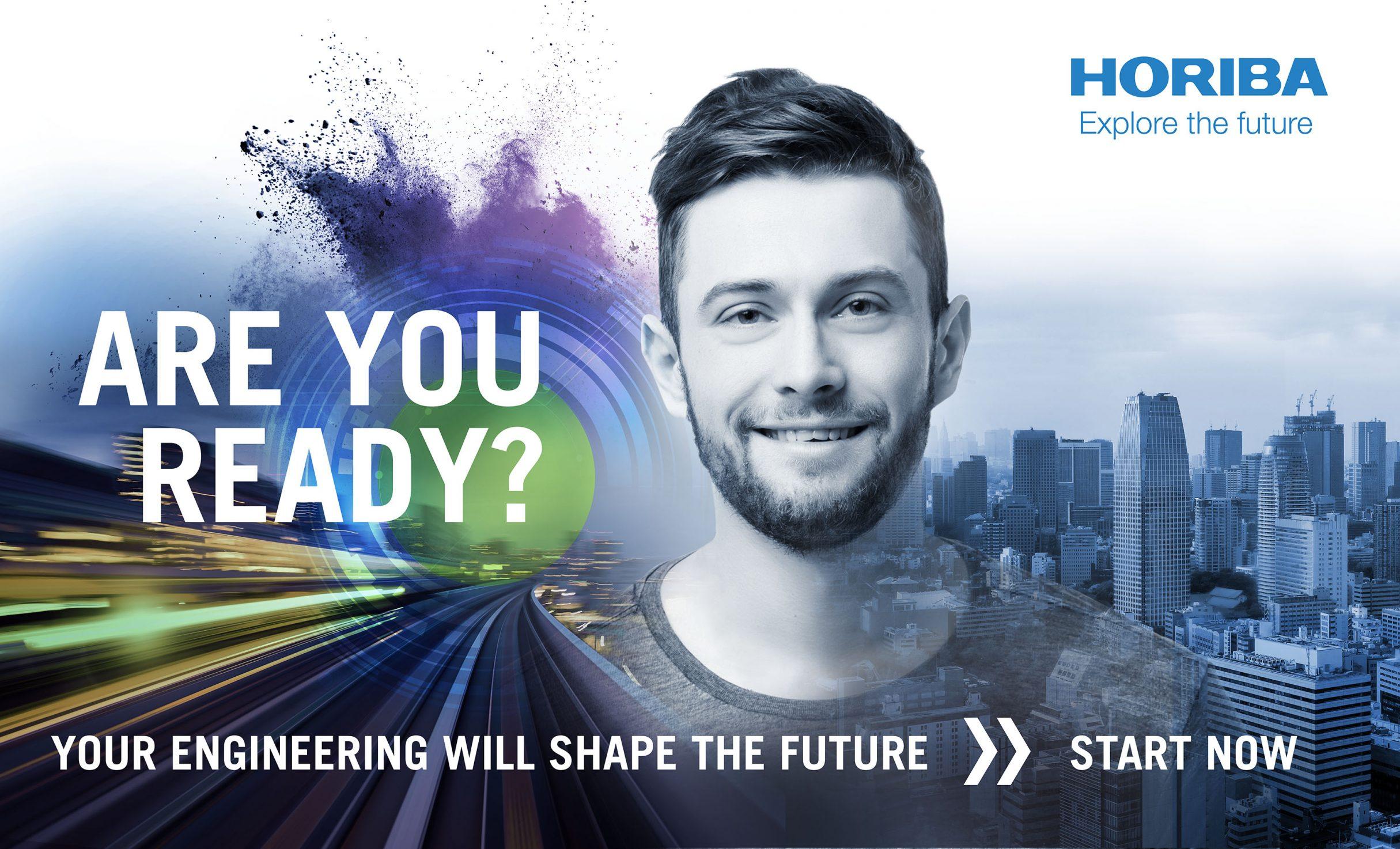 Recruiting Konzept, automotive test systems für HORIBA: DIE NEUDENKER® Agentur, Darmstadt