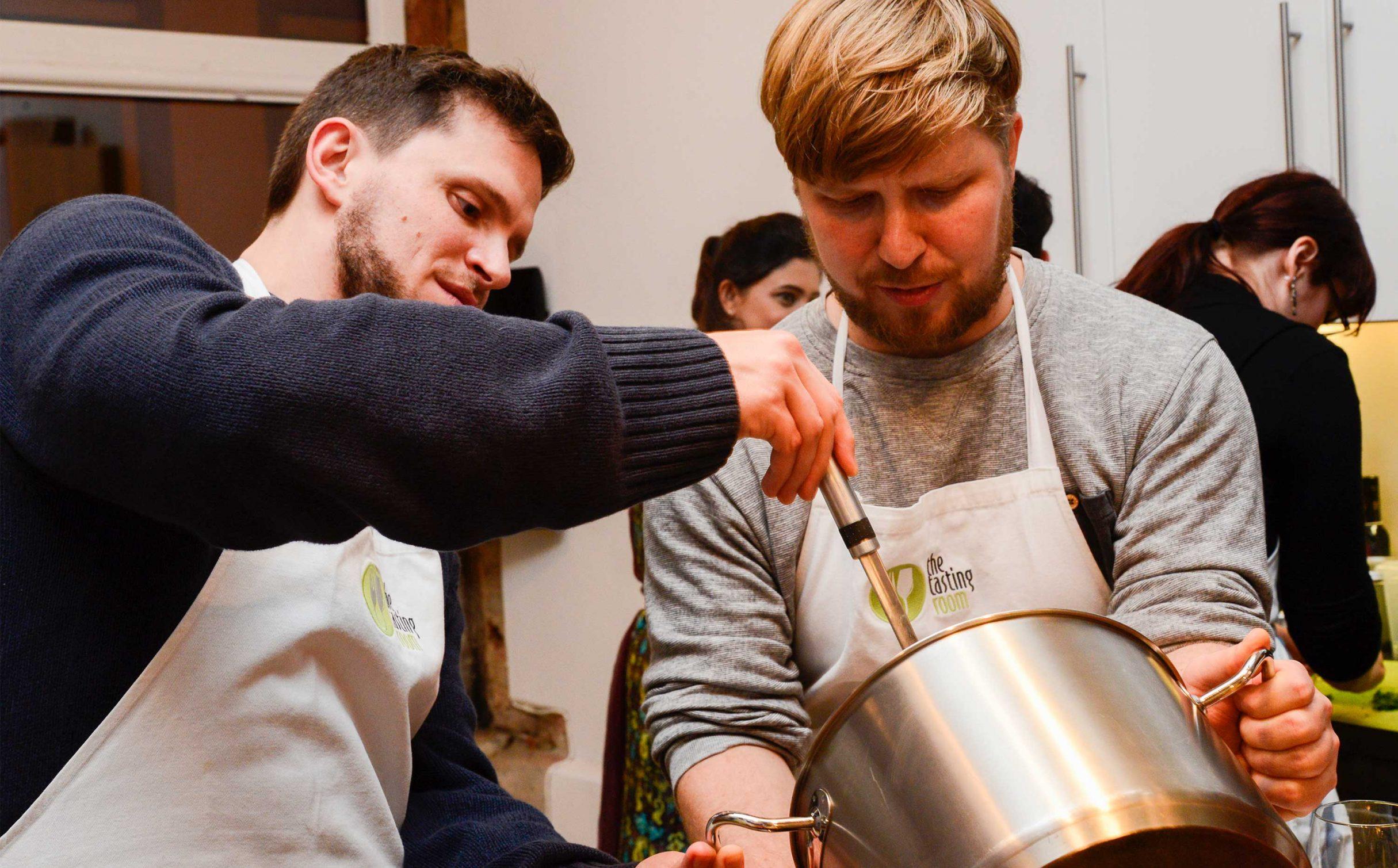 Weihnachtsfeier 2017, Kochevent bei the tasting room: DIE NEUDENKER® Agentur, Darmstadt