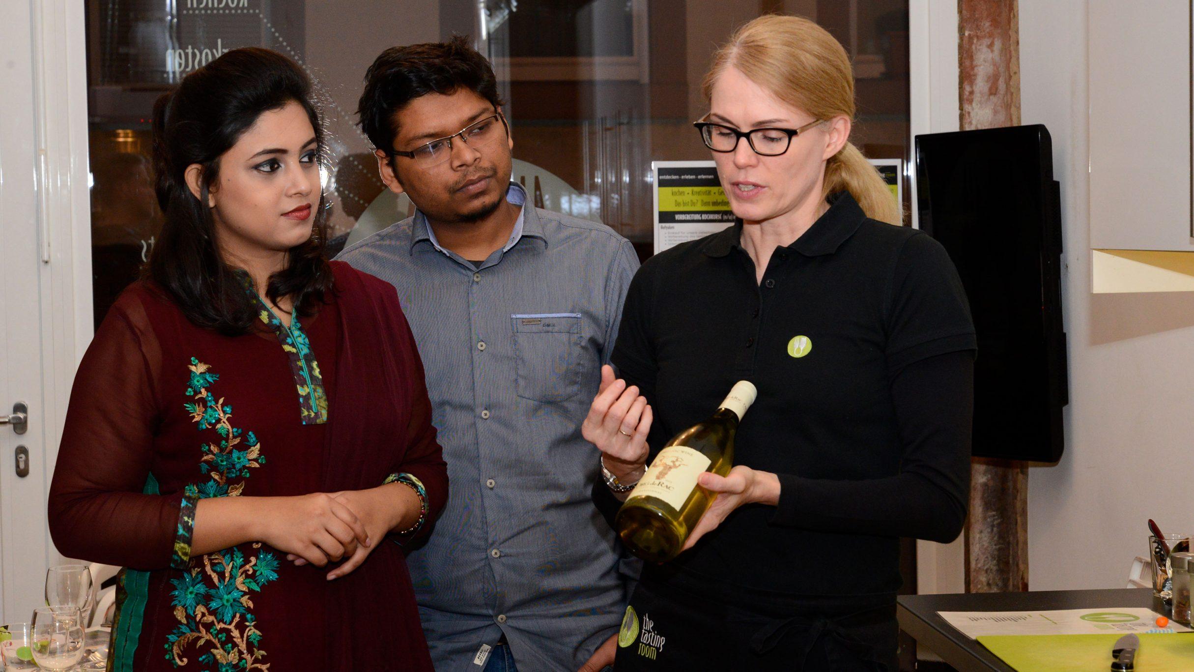 Weihnachtsfeier 2017 in der Kochwerkstatt the tasting room: DIE NEUDENKER® Agentur, Darmstadt