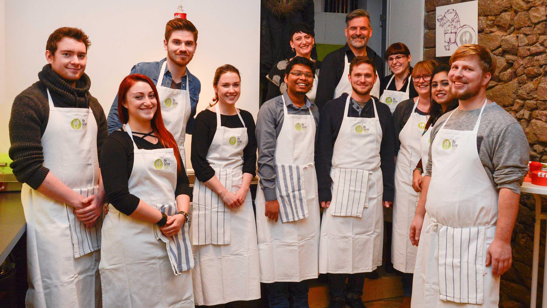 Weihnachtsfeier 2017, Kochworkshop bei the tasting room: DIE NEUDENKER® Agentur, Darmstadt