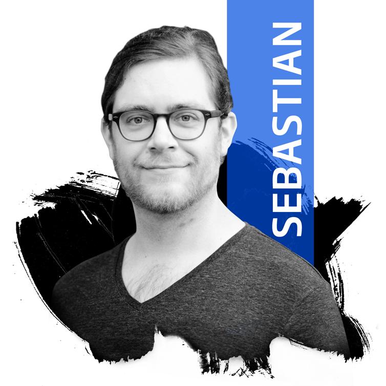 Photo: Programmierer Sebastian Leluschko von DIE NEUDENKER, Webdesignagentur in Darmstadt