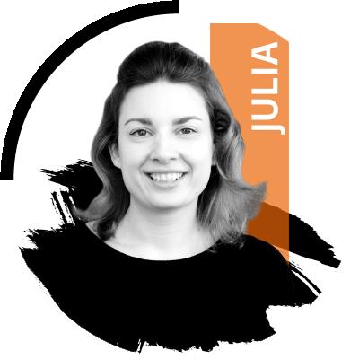 Photo: Content-Marketer Julia von DIE NEUDENKER, Webdesignagentur in Darmstadt