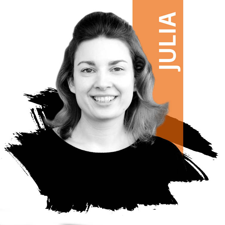 Photo: Content-Marketer Julia von DIE NEUDENKER, Webdesign Agentur in Darmstadt