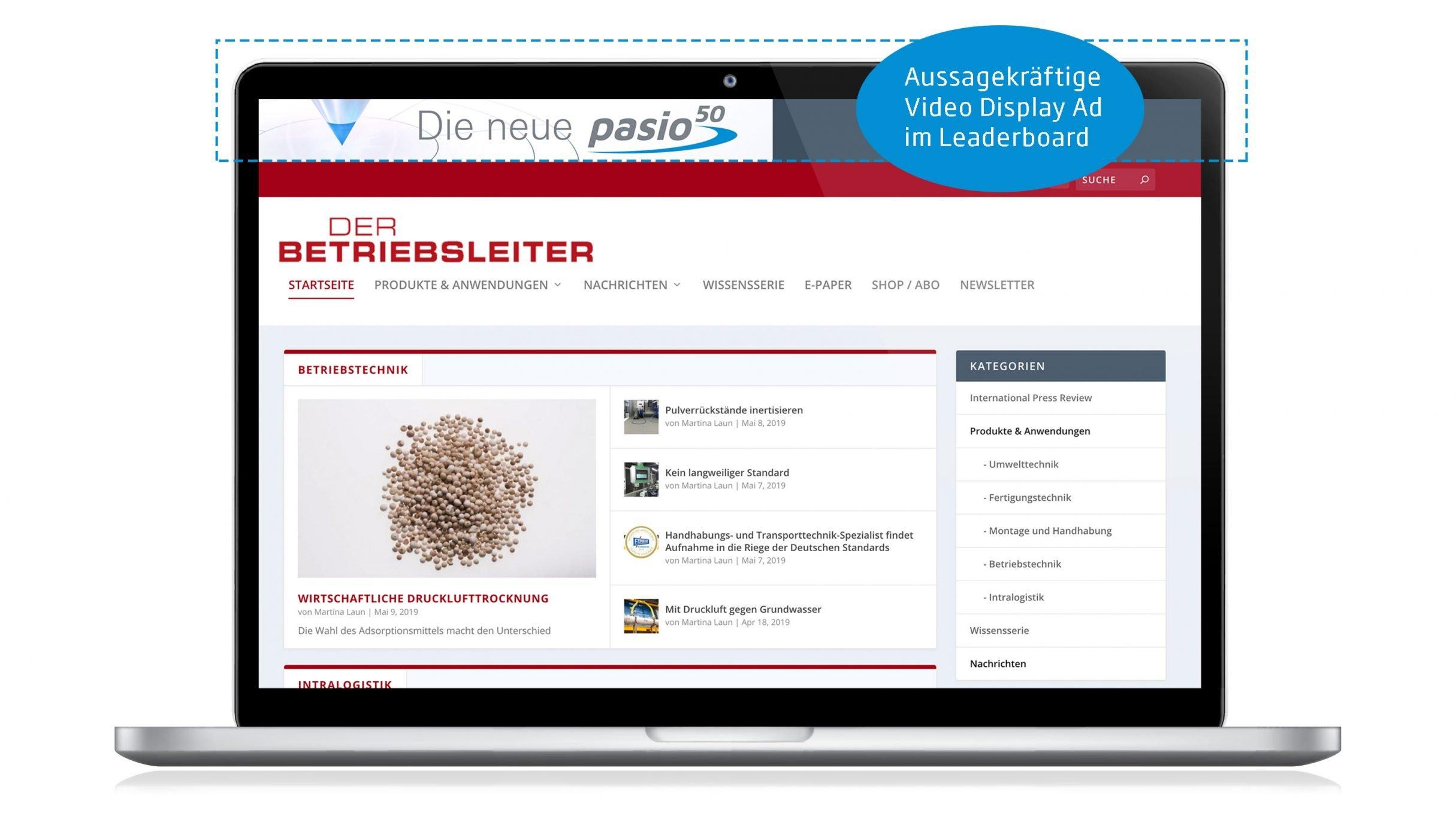 Schenck Rotec Video Banner: Videoanimation von DIE NEUDENKER® Videoproduktion Darmstadt